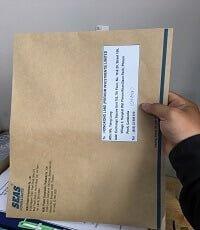 vận chuyển Thư tín chỉ 300.000 đ/ bìa thư