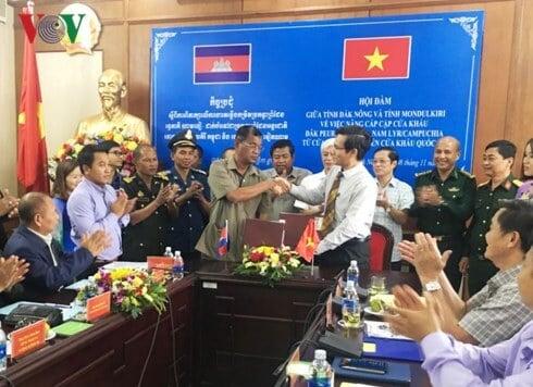 cửa khẩu Đắk Peur Nam Lyr