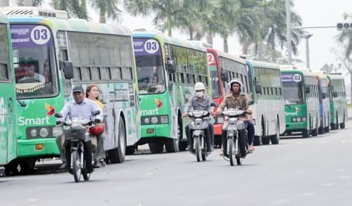 phnom penh bus