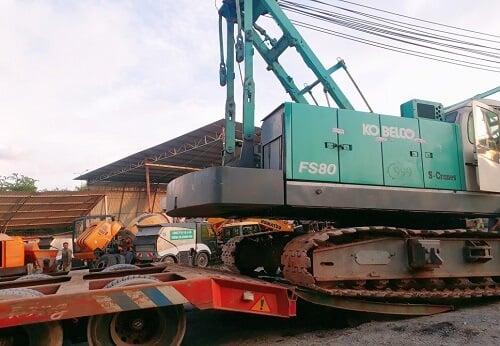đặc điểm khi vận chuyển dự án công trình là sẽ có rất nhiều hàng quá khổ quá tải cần được vận chuyển